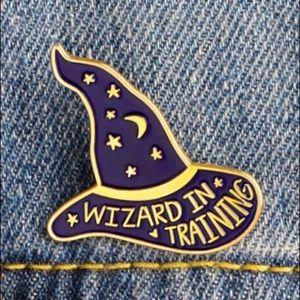 Jewelry - SALE Wizard in Training Enamel Pin Harry Potter